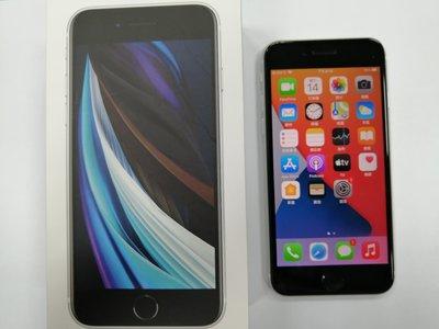 (台中手機GO) Apple iPhone SE 2020 64GB SE2 盒裝9成9新中古機保固至2021/05