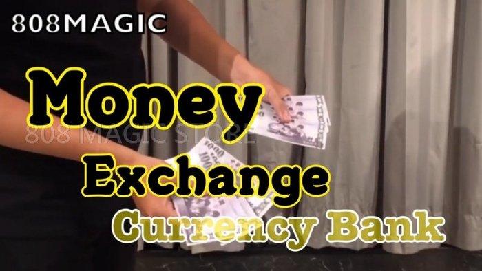 [808 MAGIC]魔術道具 Money Exchange(台幣版 NTD) 外幣瞬間變台幣 超神 過年發紅包專用