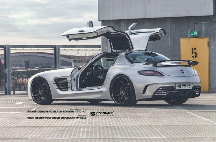 【樂駒】PRIOR-DESIGN Black EDITION Mercedes SLS 空力 套件 大包