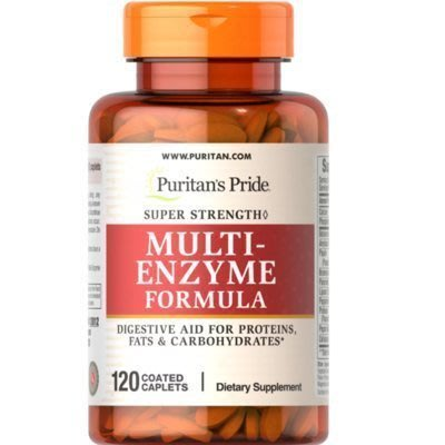 【小野代購】現貨 美國進口 普麗普萊 MULTI-ENZYME FORMULA 乳糖酵素消 化 酶*120粒