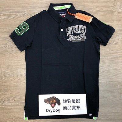 超級共和國 印度製 S~3XL夜黑現貨 跩狗嚴選 極度乾燥 Superdry Polo衫 上衣 短袖 純棉重磅 網眼透氣