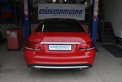 【樂駒】Eisenmann Mercedes-Benz A207 C207 E400 中尾段 排氣管 排氣 系統