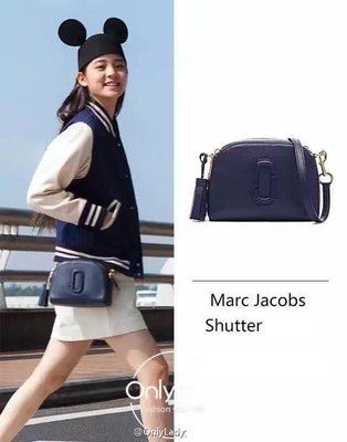 ╭☆包媽子店☆Marc Jacobs Shutter Small Camera Bag 真皮流蘇相機包