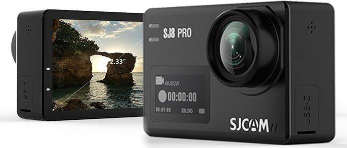 呈現攝影-SJCAM SJ8 PRO 黑色 可夜拍 4K 縮時夜景 防手震 2.33吋 全配件