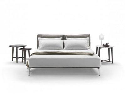 [米蘭諾家具]訂製款 複刻近原裝Flexform Adda Bed~雙人床 現代床台 設計師款 台灣嚴選工廠製造