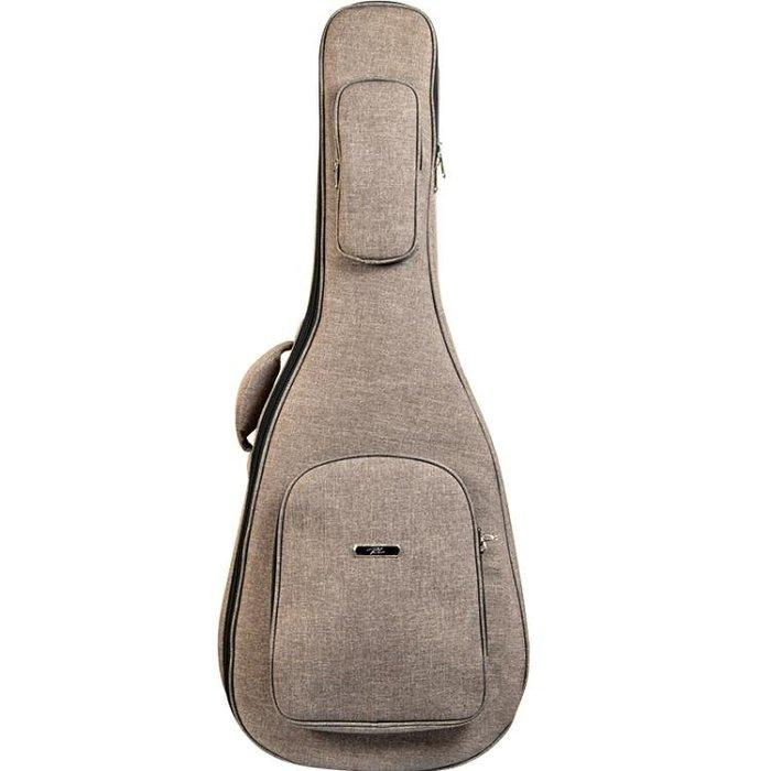 RL吉他包40寸個性學生背包加厚防水防震41寸民謠吉他包雙肩背包