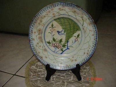 """收藏一塊台灣早年漂亮古樸的""""老陶盤"""",品相依舊完整"""