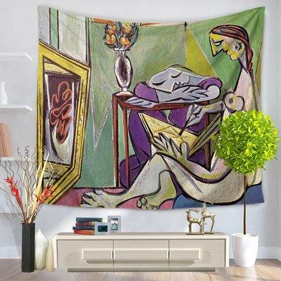 欧式复古抽象挂毯沙滩巾坐毯GT1048-150*200cm-5