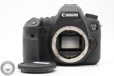 【台南橙市3C】CANON EOS 6D 單機身 二手單眼 相機 快門數2281XX次 #52014
