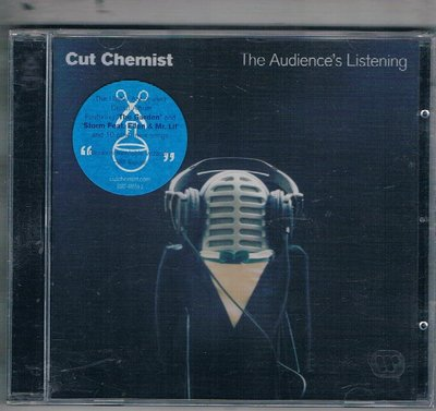 [鑫隆音樂]西洋CD-Cut Chemist ~The Audience's Listening/9362485592