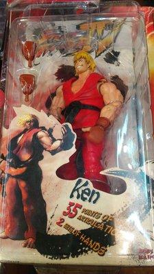 NECA Street Fighter 街頭霸王 KEN action figure