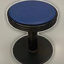 台中二手家具 大里宏品二手家具館 F112634*藍色低腳椅* 二手各式桌椅 中古辦公家具買賣 會議桌椅 辦公桌椅