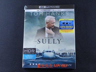 [藍光先生UHD] 薩利機長:哈德遜奇蹟 Sully UHD + BD 雙碟限定版