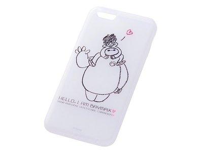 尼德斯Nydus~* 日本迪士尼 大英雄天團 Baymax 杯麵 軟殼 手機殼 4.7吋 iPhone6 Hello款