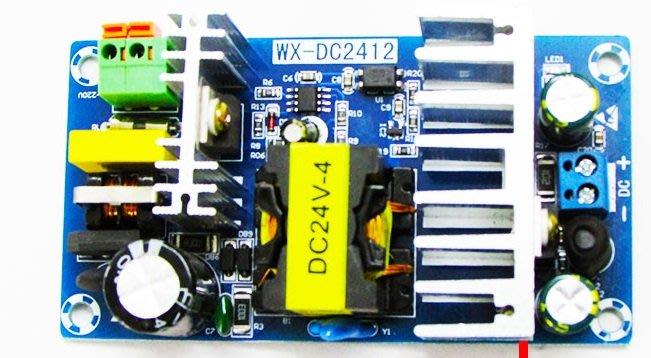 24V4A 100W AC轉DC AC to DC 功率開關電源板 AC90~265V 24V 4A 100W
