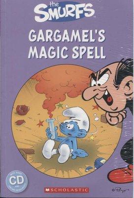 (TT)蒼穹書齋:全新\Smurfs:Gargamel's Magic Spell(附光碟)\書林\滿額享免運優惠