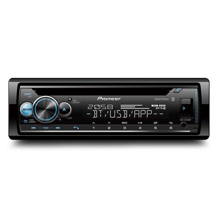 先鋒 PIONEER DEH-S5150BT CD/藍芽/USB/AUX/iPhone/安卓