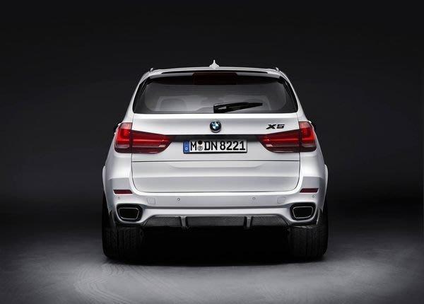 【樂駒】BMW F15 X5 35i M Performance 排氣管 尾段 原廠 改裝 套件 排氣系統 方形 尾飾管