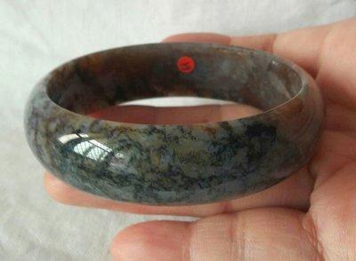 天然海藻玉(七彩玉)手鐲