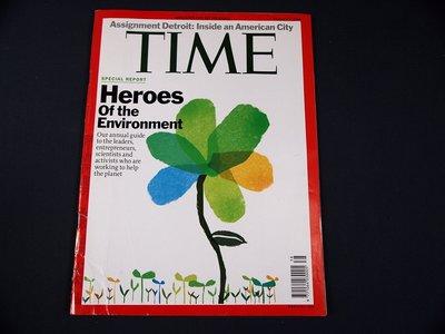 【懶得出門二手書】《TIME 2009.10.05》Heroes Of the Environment(21F22)