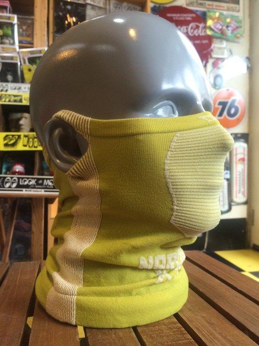 (I LOVE樂多)Naroo Mask螢光黃長版X5騎行運動 面罩 單車 哈雷 越野 滑胎 偉士 VESPA Caf