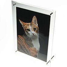 MILLA印刷設計-高透明度透明A4壓克力相框 證書框 展示框