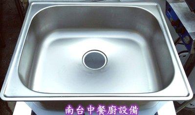 【南台中餐廚設備】 全新 坎入式不銹鋼水槽面板~另有賣((雙口水槽、三口水槽、不銹鋼工作台、客製化工作台))