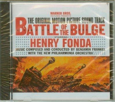 """坦克大決戰(Battle of the Bulge)""- Benjamin Frankel,全新美版(B76)"