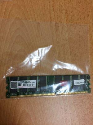 創見transcend DDR400 1G dimm