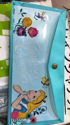 Disney (便攜/ Alice in the Wonderland) 日本廸士尼便攜抗菌口罩收納膠袋