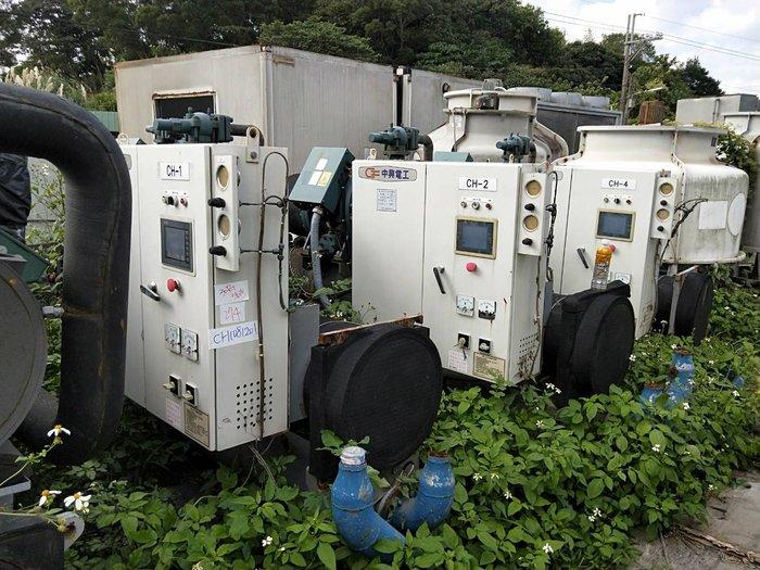 (大台北)中古中興60RT水冷冰水機3φ380V(編號:CH1081203)~冷氣空調拆除回收買賣出租~