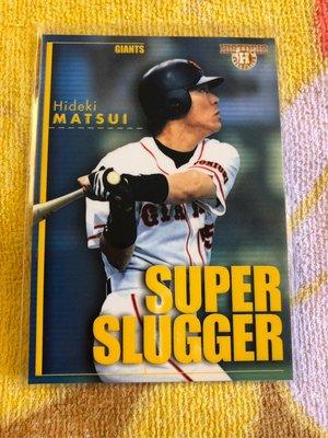 『蟹』的日本野球魂:2003 BBM Historic SS2 讀賣巨人 55 松井秀喜 Supper Slugger