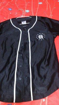 ROCK STEADY  黑色美式 背號 99RSC 棒球 球衣L號(非AES.REMIX)