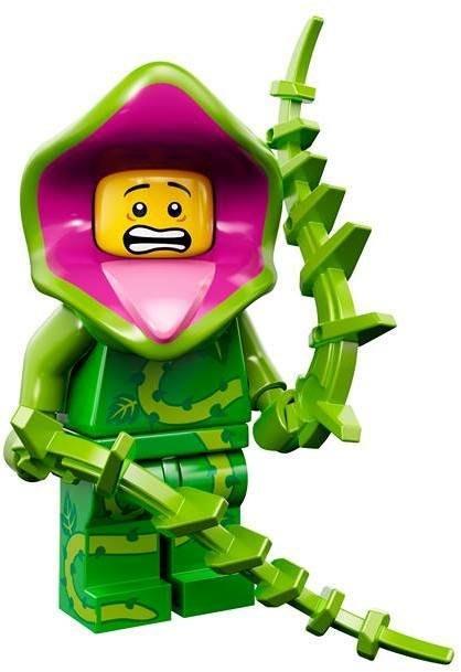 現貨【LEGO 樂高】益智玩具 積木/ Minifigures人偶系列: 14代人偶包抽抽樂 71010   植物怪