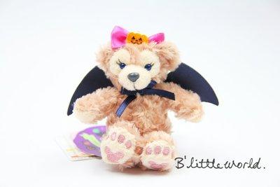 *B Little World*[現貨]東京迪士尼海洋萬聖節限定/雪莉玫坐姿吊飾/蝙蝠款/Duffy/東京連線