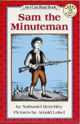 *小貝比的家*SAM THE MINUTEMAN / L3 /平裝/7-12歲[汪培珽英文書單]可另外加購CD