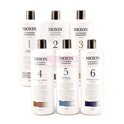 NIOXIN #1~#6 深層頭皮潔淨露 / 修護霜 1000ml 洗髮精【特價】§異國精品§