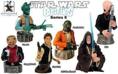 日版盒玩 Star Wars 星際大戰 胸像 棋座 Bust Ups Series 基本6款合售 特價