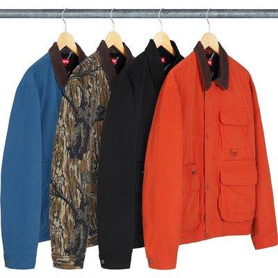 【紐約范特西】預購 Supreme FW18 Field Jacket 4色 野戰夾克