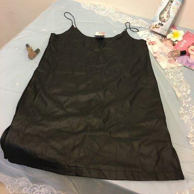 顯瘦修身無袖簡約吊帶洋裝 M號 333~1063