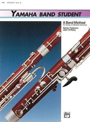 【599免運費】Yamaha Band Student, Book 3【Bassoon Book】00-5215