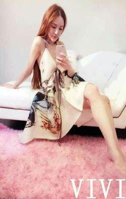 現貨   性感 女神 露背 洋裝 長裙 蝴蝶 渡假 海邊 沙灘 比基尼 休閒 深V 飄逸 10539 26241