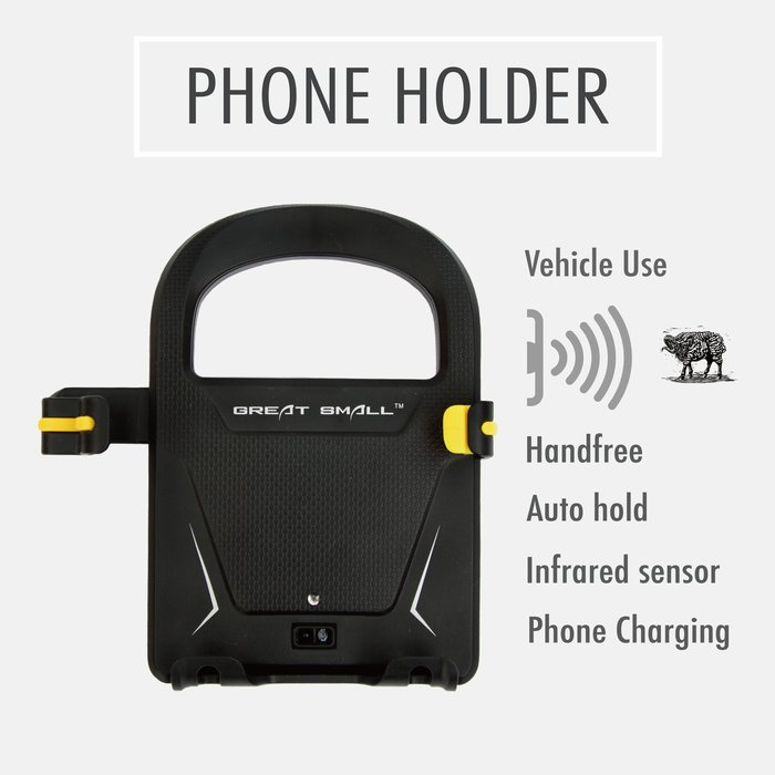 最新款GREAT SMALL 車用手機夾 紅外線感應自動機械臂 台灣總代理 車夾 適用7吋以下 緊夾不掉 手機夾