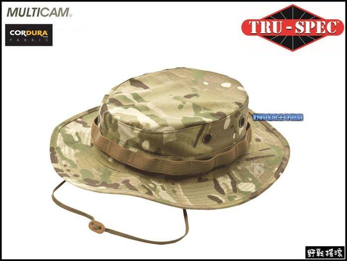 【野戰搖滾-生存遊戲】美國 TRU-SPEC 戰術圓邊帽【MultiCam】多地形迷彩奔尼闊邊帽圓盤帽CP迷彩
