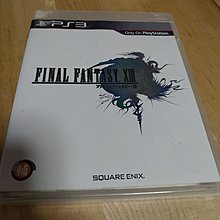 PS 3 game FINAL fantasy XIII