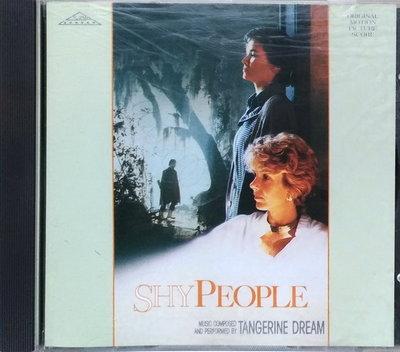 《絕版專賣》羞怯的女人 / Shy People 電影原聲帶 Tangerine Dream (全銀圈.無IFPI)
