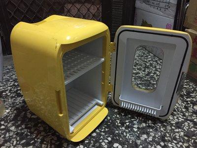 【強強三店】KRIA電子行動小冰箱鵝黃色家用、車用、冷熱兩用,四季皆宜!