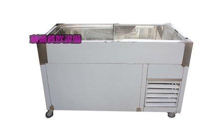 《利通餐飲設備》(全新) 6尺冷藏展示櫃 小菜櫥  展示櫃 滷味展示台 鹹酥雞台 玻璃展示櫃 冷藏櫃