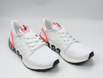 Adidas Ultra Boost 20 貝克漢姆 黑白 數字 透氣 襪套 運動 慢跑鞋 FW1970 男女鞋