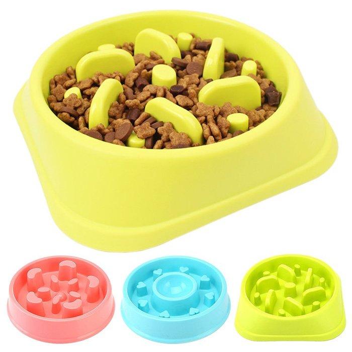 寵物慢食碗狗狗防噎碗慢食盆吃飯碗貴賓泰迪金毛狗碗小狗狗糧盆禮物